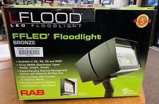 Rab Lighting Ffled39 39 Watt 39W Flood Light Fixture Floodlight Cool Light 5100K