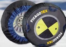 lot 2 Chaussettes chaînes neige textile enveloppes SIEPA FIX GOTEX 165/60 R15