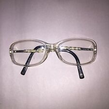 pre-loved authentic CHANEL reading glasses FRAMES retail $750 CHAINLINK ARM