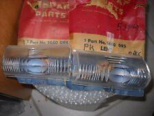 NOS MOPAR 1953 PLYMOUTH PARK LENS EARLY CRANBROOK CAMBRIDGE SAVOY 1440093-094