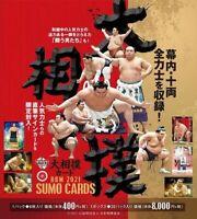 BBM Sumo Wrestler Trading Card 2021 Part 1 Sealed Box Japanese F/S Fedex