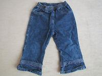 Jeans Jeanshose Gr. 86 in blau von Sanetta
