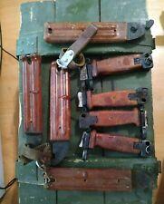 Soviet SHEATH 6x3 metal scabbard plus handle red bakellitte NO BLADE DESACIVATED