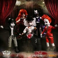 Mezco Living Dead Dolls series 33 set of 5 Moulin Morgue Figure dolls* BRAND NEW