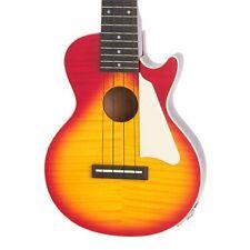 Epiphone Les Paul Acoustic Electric Concert Ukulele - Heritage Cherry Sunburst