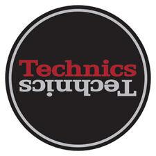 Magma Technics Duplex 2 Slipmats (black/silver/red Pair)
