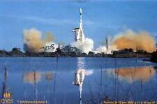 GUYANNE PHoto du 1er Lancement Fusée ARIANE 4 KOUROU 15 Juin 1988 CNES