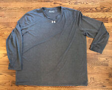 Under Armour Heat Gear Loose Fit Long Sleeve Shirt 4Xl Xxxxl
