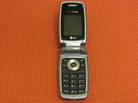 LG VX5400 Verizon Wireless 37MB Gray Flip Cell Phone *Fully Tested*