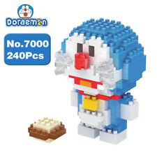 BOYU Anime Doraemon Blue Cat Robot Micro Diamond Mini Building Nano Blocks Toy