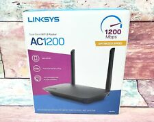 NEW Linksys E5400 AC1200 Dual Band WiFi 5 Router 1200 Mbps 2.4 & 5GHz Open Box