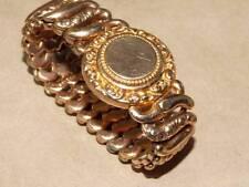 VTG Antique American Queen Sept Sept 8 1908 Expansion Initial Ready Bracelet TLC