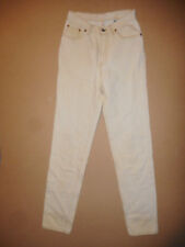 Rare Levis 501 0161 Made in USA Mens Cream Vintage Denim Jeans W27 L33  E27