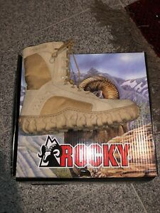 Rocky SV2 105 Special Ops boots. Men's size 10, SAND MADE IS THE USA $254 retail