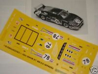 FERRARI 512 BB CROCKFORDS 24h LE MANS 1980 1/43 DECALS