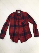 Mens Designer Silver Eight (8 Silver EIght) Red Cheque Shirt