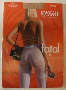 Vintage Wolford FATAL 15 Helmut Newton Photo Small Cosmetic 18076 4273 RARE