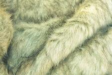 D235 Deluxe siberiano Blue Fox pelliccia sint straordinaria qualità realistica MADE IN ITALY