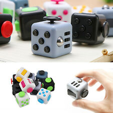 Magic Fidget Cube Anxiety Stress Relief Focus Desk Toy 6-side Kids Adults Hot