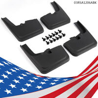 Fit Ford F-150 15-18 WITH Fender Flares 4x Front Rear Splash Mud Guards Flaps