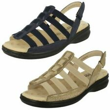 """Ladies Padders Wide Fit Strappy Sandals """"Lesley"""""""
