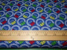 1 yard  Trains Fabric