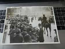 More details for  photograph  traffic police  downing street area  1938  czech crisis  etc