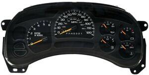 RE-MAN 2006 2007 Chevy Silverado GMC Sierra Truck Speedometer Cluster ODOMETER