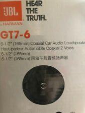New listing Jbl Gt7-6 6.5 inch 2-Way Coaxial Car Audio Speaker - Pair