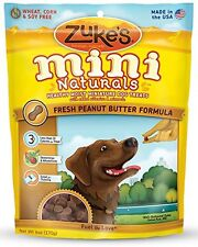 Zuke'S Mini Naturals Dog Treats, Fresh Peanut Butter Recipe, 6-Ounces
