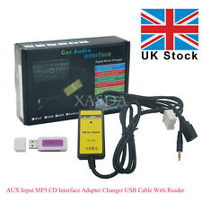 AUX Input MP3 CD Interface Adapter Changer USB Cable & Reader for Honda Accord K