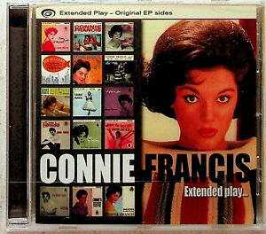 Connie Francis -Extended Play -Best Of Original EP Sides CD -NEW (Lipstick On)