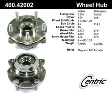 Axle Wheel Bearing And Hub Assembly Front Centric fits 04-09 Nissan Quest