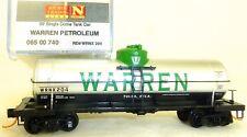 WARREN petróleo Individual Domo COCHE Tanque microtrenes LINEA 065 00 740 N