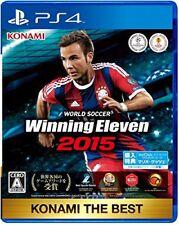 Used PS4 World Soccer Winning Eleven 2015 KONAMI THE BEST Japan Import