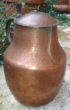Pichet à Vin en cuivre & Bronze antique Copper Wine Pitcher
