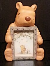 Disney Charpente Classic Winnie The Pooh Cast Resin Figurine Photo Picture Frame
