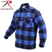 Rothco 3739 Extra Heavyweight Buffalo Plaid Sherpa-lined Flannel Shirts