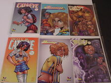 HYPERWERKS, DEITY COMICS 2 each of 3 Titles, See Details Below = (Lot of Six)