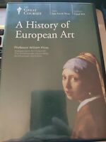 The Great Courses: A History of European Art - 8 DVD Set William Kloss