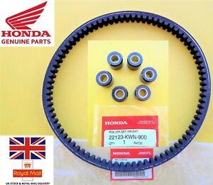 GENUINE Honda PCX125 PCX Roller Weights + Drive Belt Set 2009 - 2014
