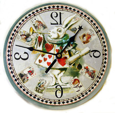 White Rabbit Clock. Herald from Alice in Wonderland. made in U.S.A.