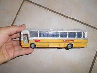 Vintage Bus Autobus Car Kirk Mercedes Benz O 302 PTT Suisse