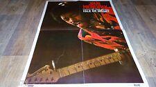 JIMI HENDRIX  !  rare affiche cinema musique concert rock disco vintage 60.70.80