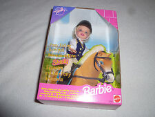 NEW IN BOX KELLY BARBIE CLUB SHELLY DOLL PONY RIDING FOREIGN GERMAN LOT 19881 >
