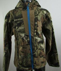 Realtree Break-Up Infinity Boys Camo Full-Zip Hooded Jacket with Zip Pockets