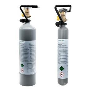 Aquarium - CO2 Flasche 2kg, 500g mit Cage Mehrweg AQUA-NOA