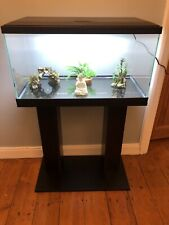 More details for **brand new** fish tank & stand: heater, filter & water treatment included