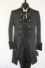 Hochzeitsanzug Herrenanzug schwarz 4 teilig SET H9141