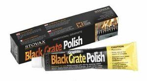 Stovax Woodburner Graphite Fire Polish Black Grate Polish CastIron Stove Cleaner